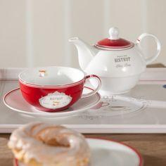 . Chocolate Pots, Teapots, Tea Set, Cup And Saucer, Lighter, Tea Time, Stoneware, Om, Tea Cups