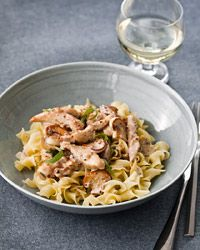 Chicken in Tarragon-Mustard Cream Sauce Recipe on Food & Wine