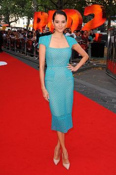 Emma Hemming in Roland Mouret at the 'RED 2′ London Premiere