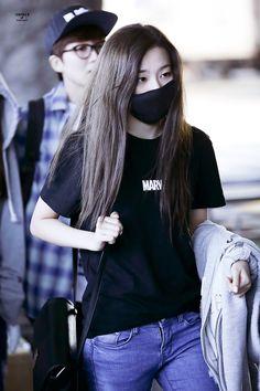 Red Velvet Seulgi Airport Fashion 150427 2015 Kpop