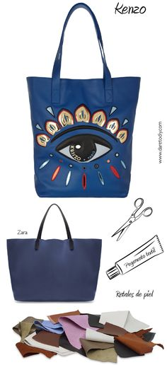 Dare to DIY: Counterfeit DIY: inspírate en Kenzo, Agent Provocateur y Charlotte Olympia