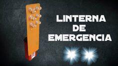 Como hacer una LINTERNA LED MUY POTENTE/Ideatronic