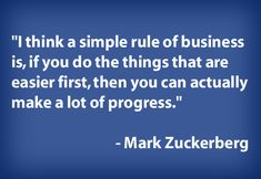business - Mark Zuckerberg