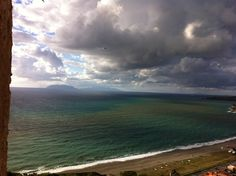 View 2 from the castle of Milazzo