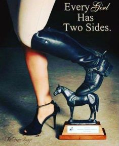 The opposite sides of the rider - horse - equitation Equestrian Quotes, Equestrian Problems, Equestrian Outfits, Equestrian Style, Equestrian Fashion, Inspirational Horse Quotes, Horse Riding Quotes, Country Girl Quotes, Horse Love