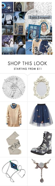 """Fancast of Luna Lovegood"" by pie-epic ❤ liked on Polyvore featuring Leith, ...Lost, Luna, George J. Love, Nina B, ZOHARA, Ash, Dionea Orcini and ELSE"