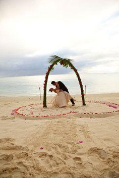 Wedding = Cook Islands + Pacific Resort
