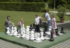 GIANT CHESS SET | toys | outdoor play