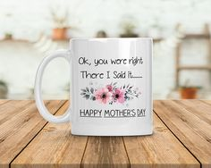 funny mother's day mug mother's day gift for mom