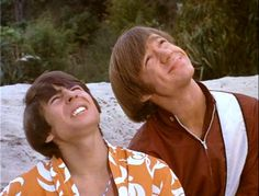"""Pictures from The Monkees episode """"I Was a 99 lb. Weakling"""" with Davy Jones, Micky Dolenz, Peter Tork, and Mike Nesmith. My First Crush, First Love, Two Of A Kind, My Love, Classic Rock Artists, Michael Nesmith, Peter Tork, Partridge Family, Pop Rock Bands"""