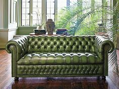 Eye For Design: Decorate With The Chesterfield Sofa For Elegance AND Comfort