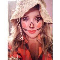 Cute Scarecrow Wallpaper   Scarecrow Face Makeup Scarecrow ...