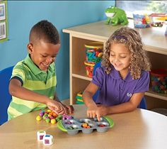 Learning Resources Mini Muffin Match Up