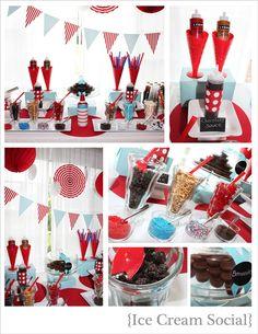 Ice Cream Parties . . .