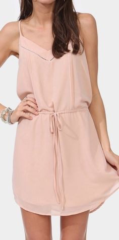 Cameron Drawstring Dress