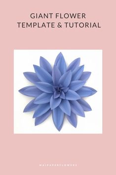 Are you looking for dahlia paper flower template svg or printable? Try out this one! It is great for giant paper flowers diy projects with Cricut, Silhouette and printer. Click through for more views! #papeflowertemplatesvg #dahliasvg  #paperflowercricut #giantpaperflowersdiy #paperflowersdiy #giantpaperflowers #dahliapaperflowers #dahliatemplatesvg