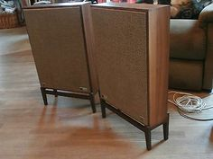Vintage 1969 The Fisher Speakers KS-1 , SOUND GREAT - PREOWNED