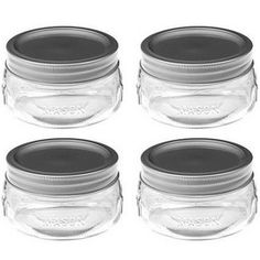 we are using these at our wedding to hold tea lights! they are so cute, & not badly priced!!  Source for half-pint Ball jars