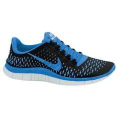 Nike Free Run 3.0 V4 - Women's - Electric Yellow/Deep Royal Blue/Summit White