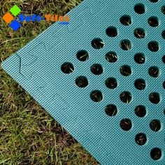 Every Tile,comes complete with 1 or 2 Edges  at no extra cost,  to make a nice tidy finish. They are made from the best quality solid  EVA Foam   which will not adsorb water so are very easy to keep clean. You will get an average of 12 Edges, for every 6 tiles. The holes allow any water or fluids to drain away.