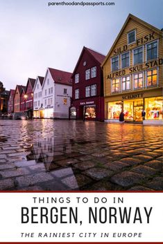 Want to explore Bergen like a local? Check out this ultimate guide to the best things to do in Bergen, Norway to enjoy your time in this city. Here, you will find tips on where to hike in Bergen…More Europe Destinations, Cities In Europe, Europe Travel Guide, Travel Guides, Oslo, Jotunheimen National Park, Rainy City, Norway Travel, Norway Vacation