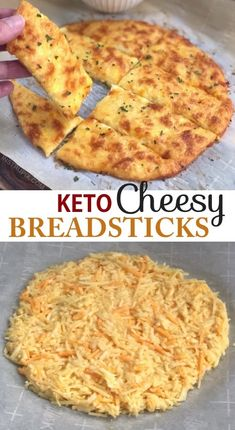 4 Ingredient KETO Cheesy Garlic Breadsticks Recipe Looking for low carb snacks? This quick and easy keto recipe is great for beginners, and always a hit. It's a great snack, salad or soup companion, or even meal! And it's almost zero carb! Cheesy Garlic Breadsticks Recipe, Low Carb Diets, Low Carb Food, Low Carb Desserts, Comida Keto, Diet Food List, Diet Menu, Food Lists, Keto Snacks