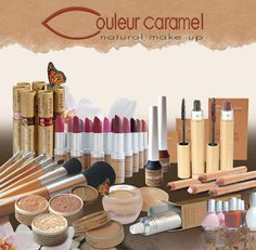 Couleur Caramel Natural Make Up - Available online www.allurecosmetics.co.za