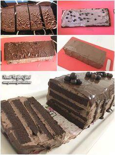 Kolay Yaş Pasta Tarifi Crinkle Cookies, Easy Cake Recipes, Sweet Recipes, Graham Crackers, Salty Foods, Pastry Cake, Ice Cream Recipes, Chocolate Desserts, Chocolate Cake
