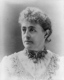 First Lady Caroline Harrison, wife of President Benjamin Harrison. She was the first First Lady to put up a Christmas Tree in the White House, First Lady Of America, Us First Lady, Presidents Wives, American Presidents, American History, Presidential History, Presidential Trivia, American First Ladies, American Women