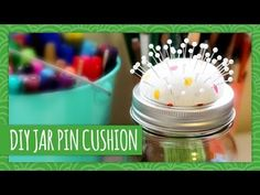DIY Mason Jar Pin Cushion - HGTV Handmade