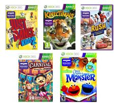 10 Best Xbox 360 + Kinect Games for Under 10 #spon