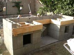 make your own outdoor kitchen if you ever played with blocks when you