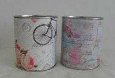 Resultado de imagen para latas decoradas vintage