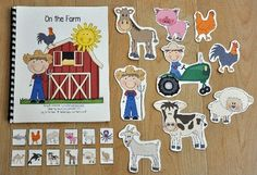 """Adapted Book--""""On the Farm"""""""