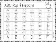 ABC roll & record freebie!!
