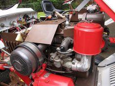 My recently reborn Bolens 1000 & 1050 Bolens Tractor, Tractors, Farmer, Amp, Accessories, Farmers, Jewelry Accessories