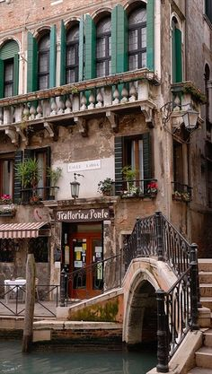 Trattoria al Ponte del Megio in Venice • photo: Lawrence Coleman on Flickr