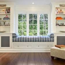 Windows With Seats wardrobe space around a window creating a window seat. i love this