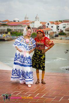 Fenomenales! Trajes típicos panameños.