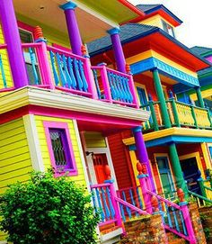 Nice colored house