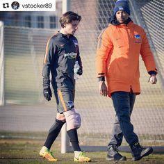 #Repost @vstocker89 with @repostapp  Nach dem schmerzhaften Unfall im Training vorgestern  ist jetzt wieder alles gut.  Nochmal Glück gehabt   Volle Konzentration auf die Bayern  #VS14 #Bundesliga #HaHoHe