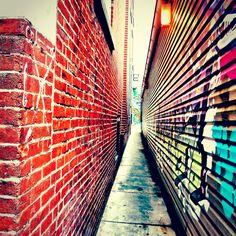 graffiti wall/alley. way cool !