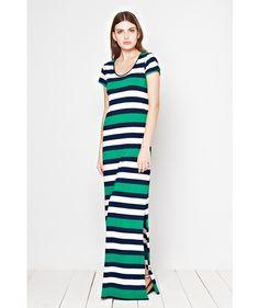 Great Plains Jolly Roger Striped Maxi Dress