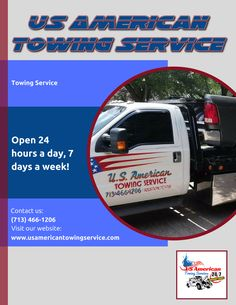 US American Towing Service Tow Truck, Trucks, Wrecker Service, Flatbed Towing, Towing Company, Houston Tx, Link, Truck