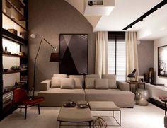 A obra de Leslie Spak no ambiente da arquiteta Francisca Reis na Casa Cor 2014.  Para mais informações: contato@galeriachroma.com.br