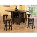 ACME Furniture - Heritage Hill 5 Piece Counter Height Kitchen Table Set - 6300-5set  SPECIAL PRICE: $1,328.00