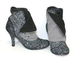 Really like these 'spat' boots!