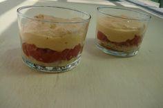 Mi Gran Comilona: Vasito de tiramisú con parmesano y tomates confita...