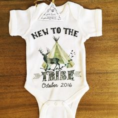 NEW to the TRIBE teepee deer boho announcement by ThePineTorch