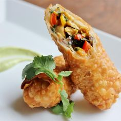 "Southwestern Egg Rolls | ""The entire family loves this! All four of my boys asked me to make this 3 days in a row."""